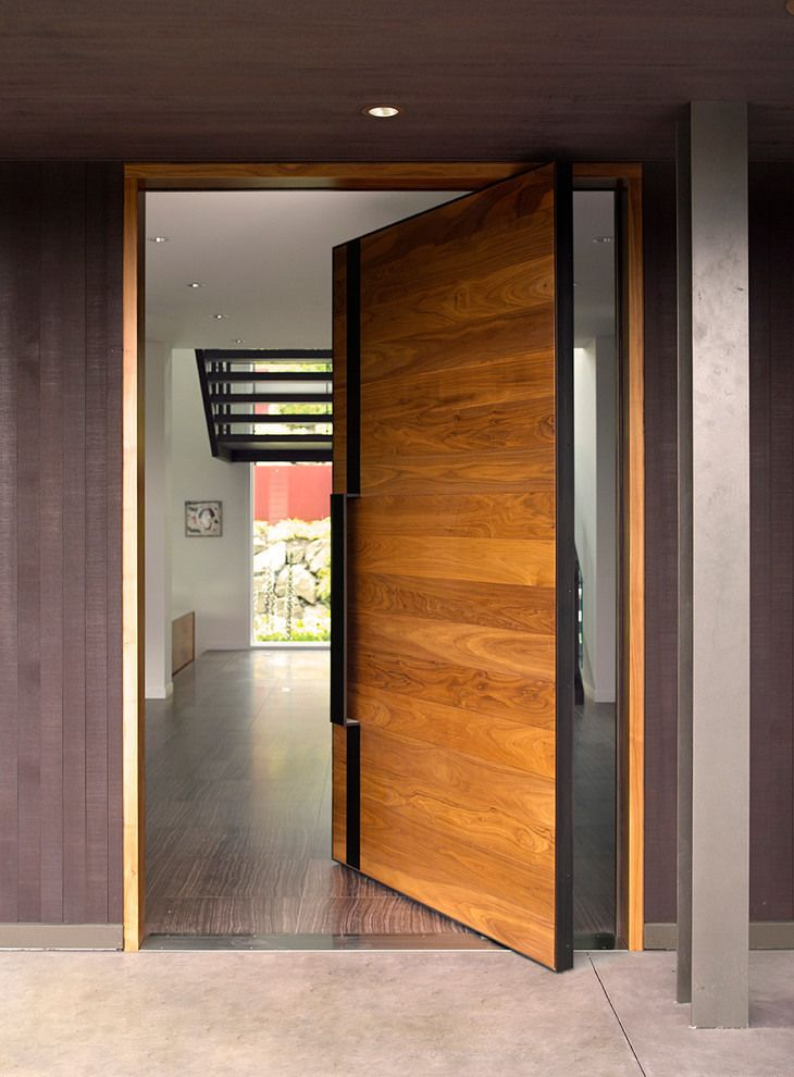 modern contemporary door designs photo - 8