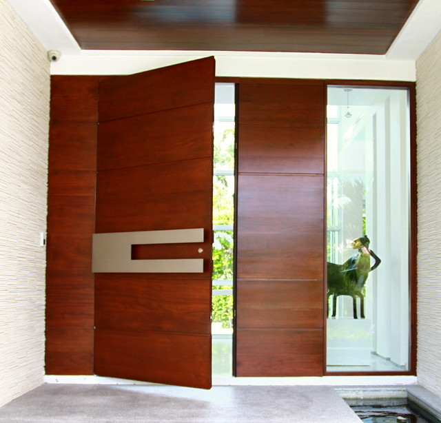 modern contemporary door designs photo - 9