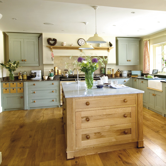 modern country kitchen cabinets photo - 10