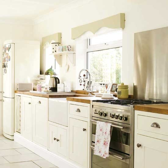 modern country kitchen cabinets photo - 4