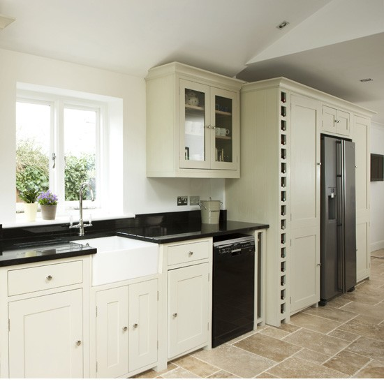 modern country kitchen cabinets photo - 5
