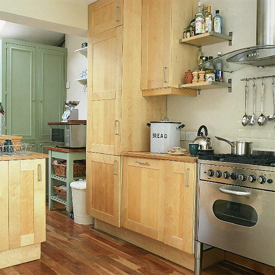 modern country kitchen cabinets photo - 6