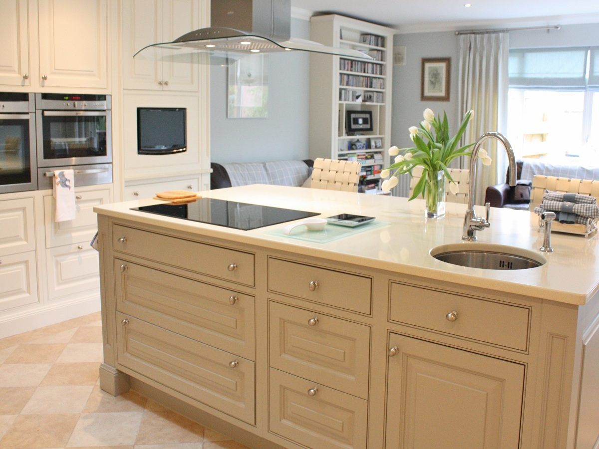 modern country kitchen cabinets photo - 7