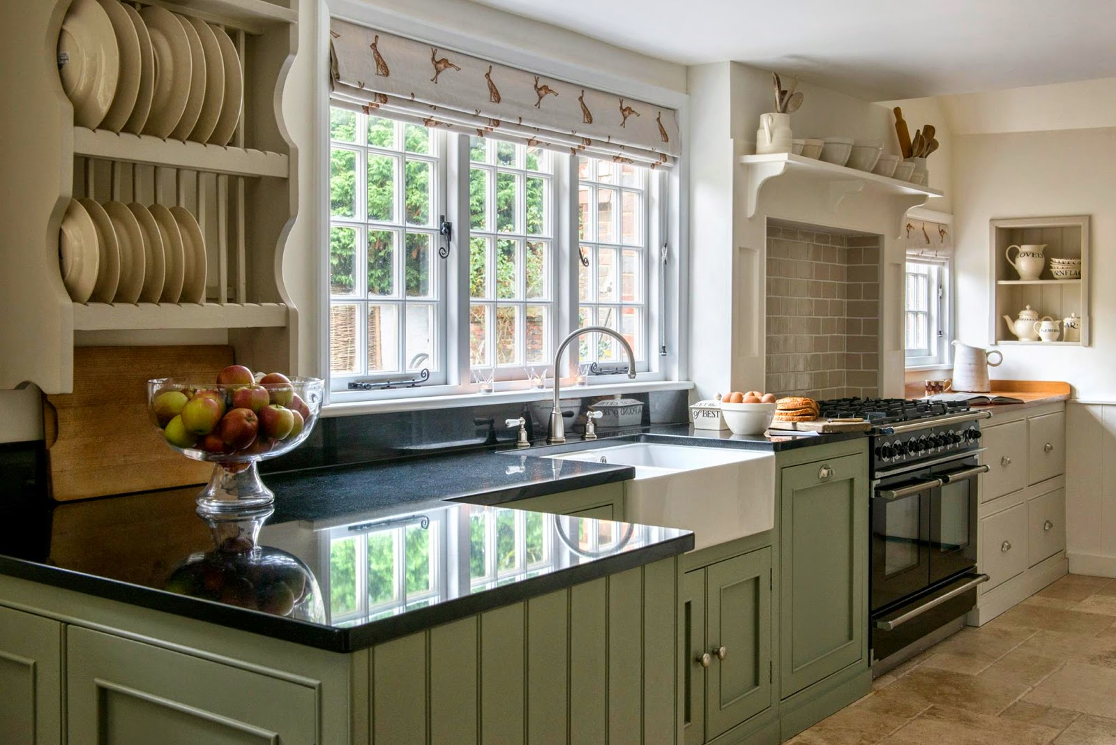 modern country kitchen cabinets photo - 8