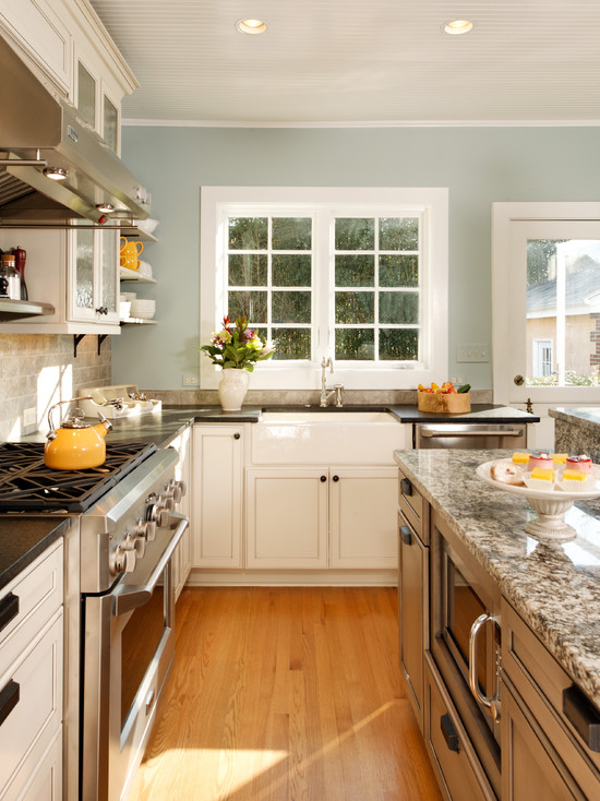 modern country kitchen cabinets photo - 9