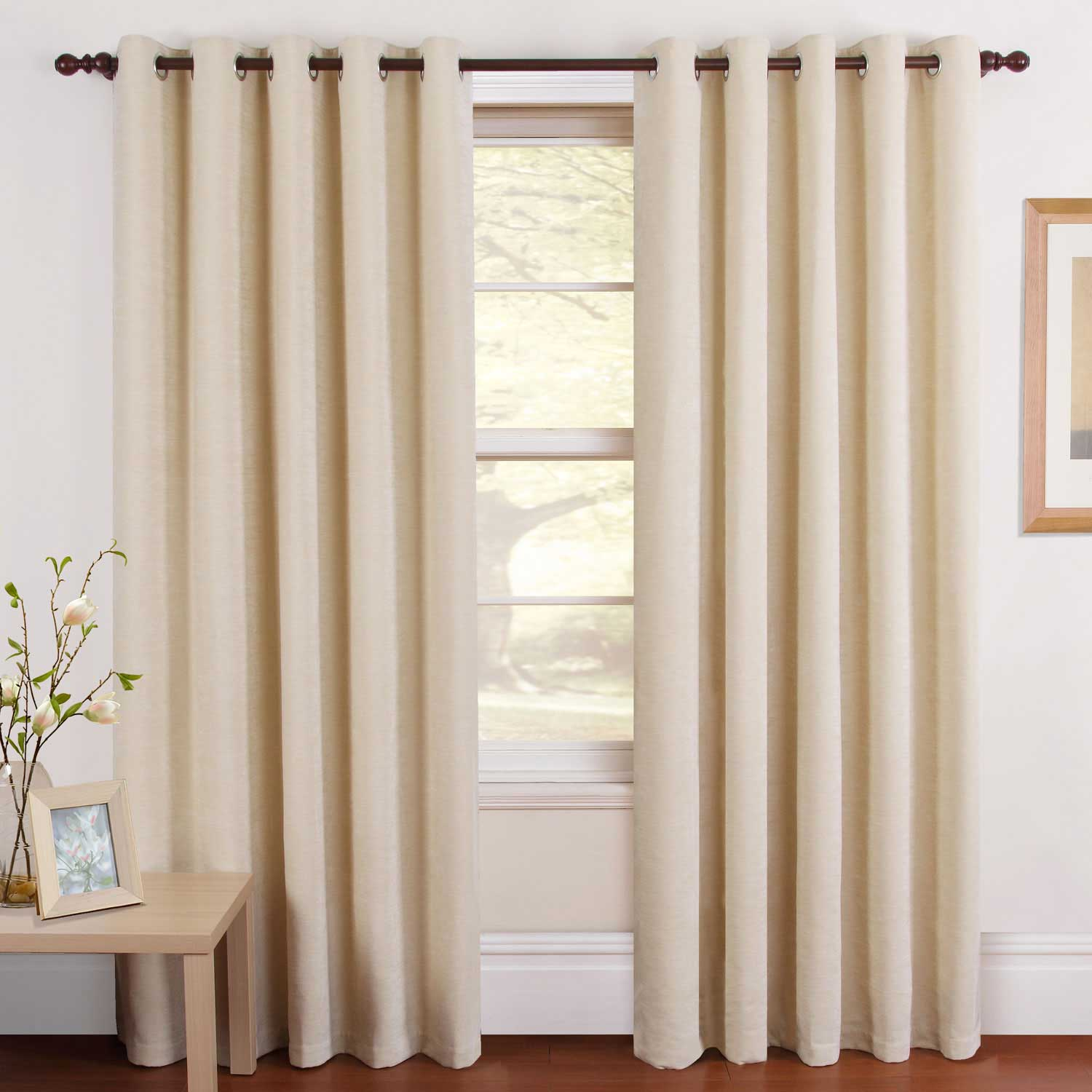 modern country kitchen curtains photo - 10