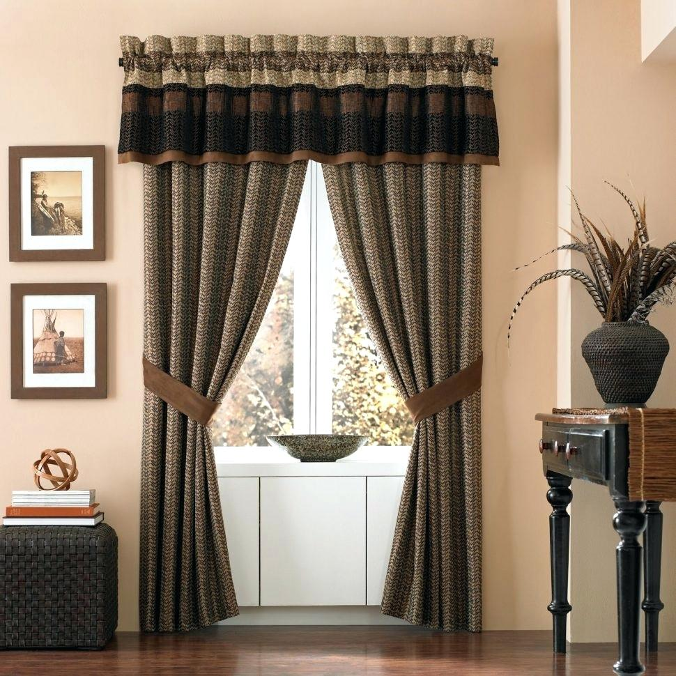 modern country kitchen curtains photo - 5