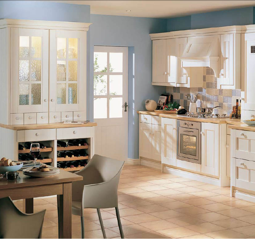 modern country kitchen decorating ideas photo - 2