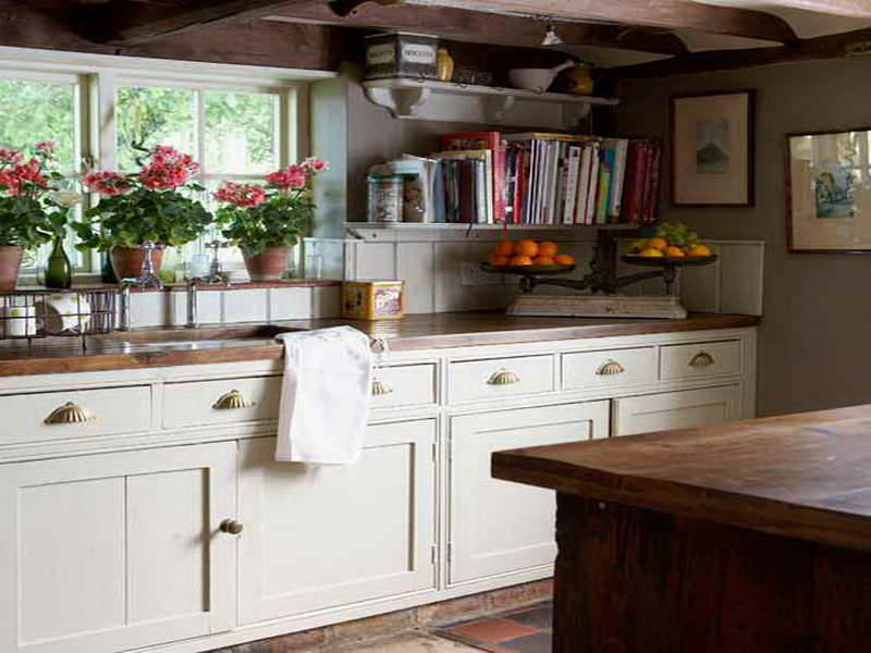 modern country kitchen decorating ideas photo - 4
