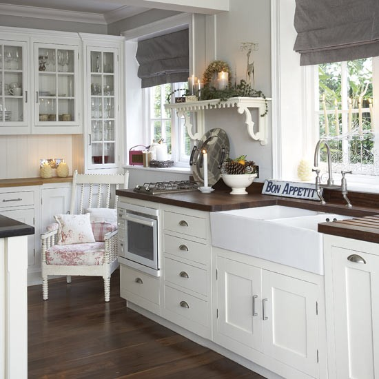modern country kitchen decorating ideas photo - 5