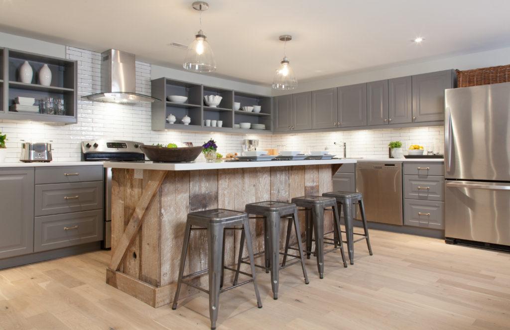 Modern Country Kitchen Island Hawk Haven