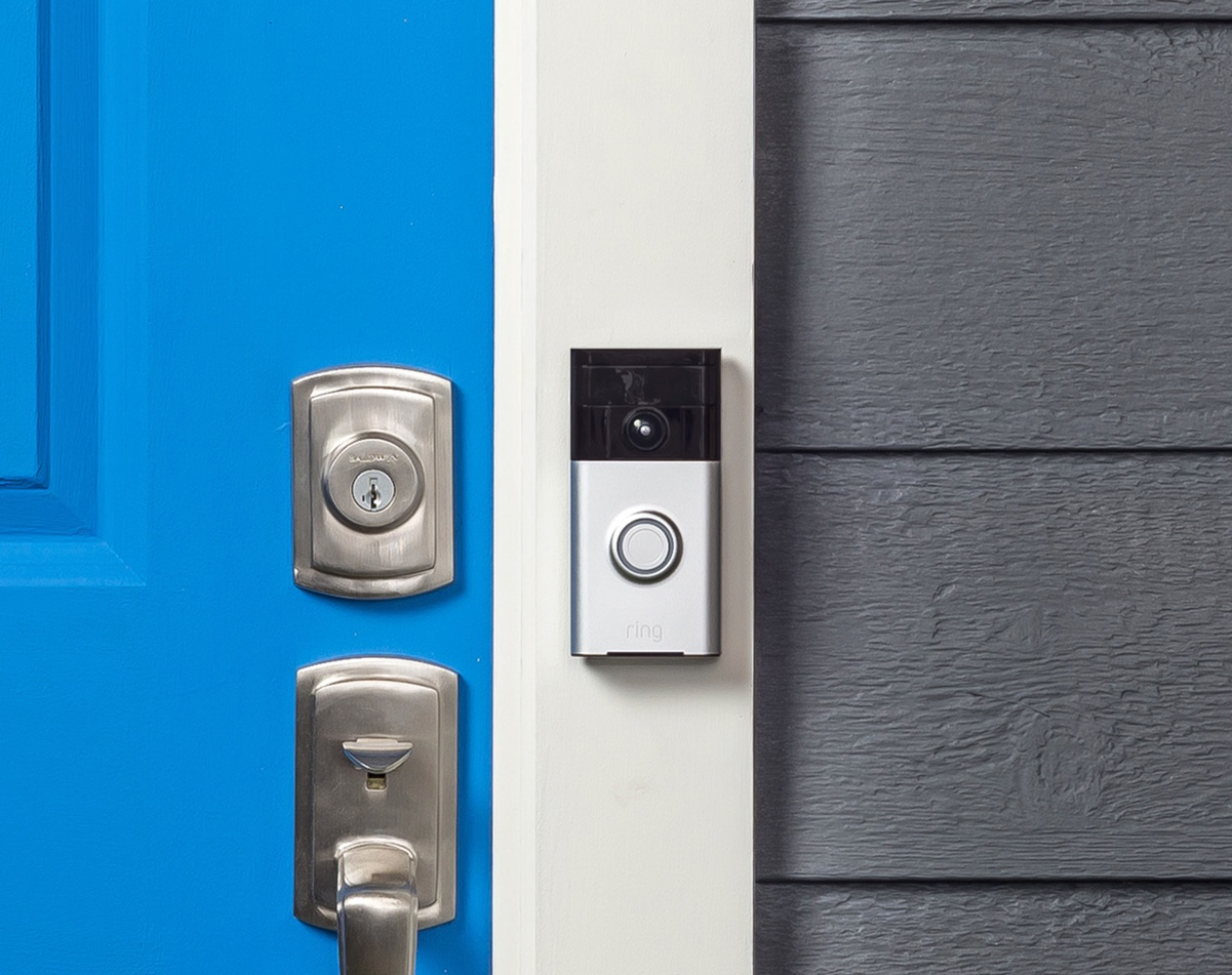 modern design door bell photo - 3