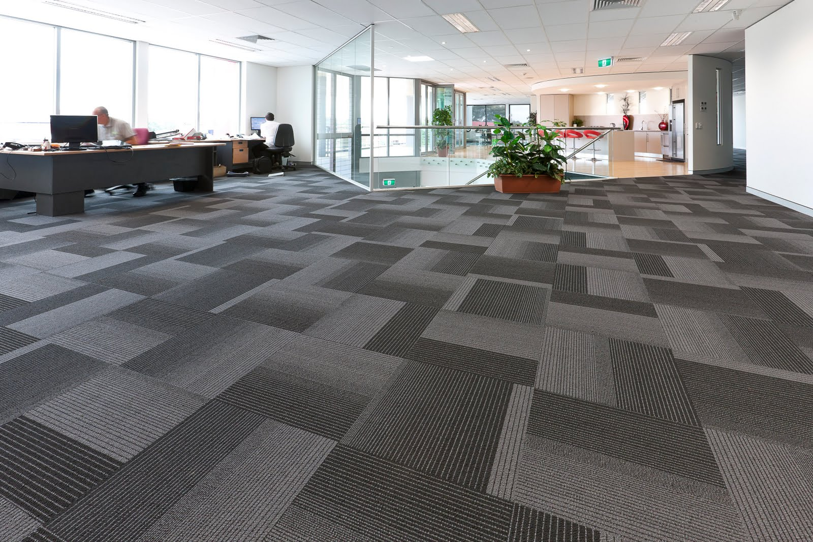 modern floor carpet tiles photo - 2