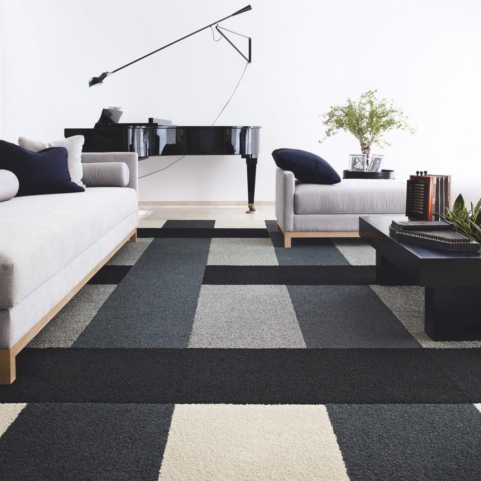 modern floor carpet tiles photo - 6