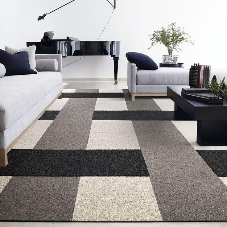 modern floor carpet tiles photo - 9