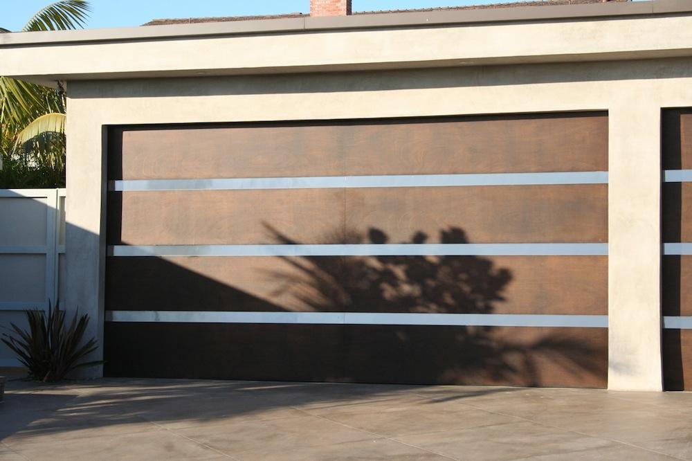 modern garage door designs photo - 10