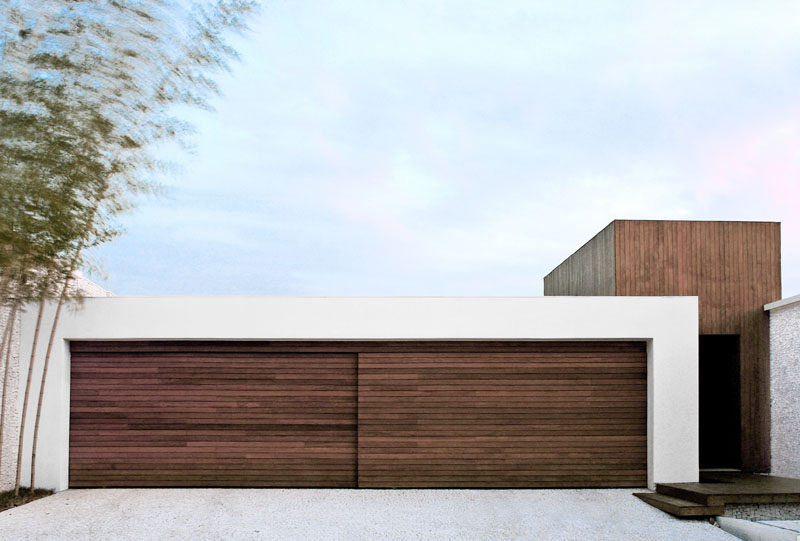 modern garage door designs photo - 3