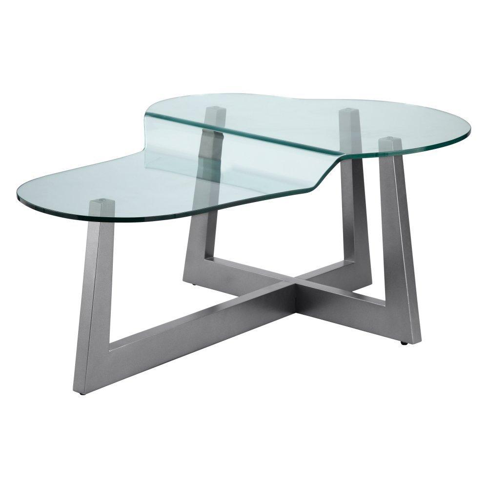 modern glass coffee table designs photo - 1