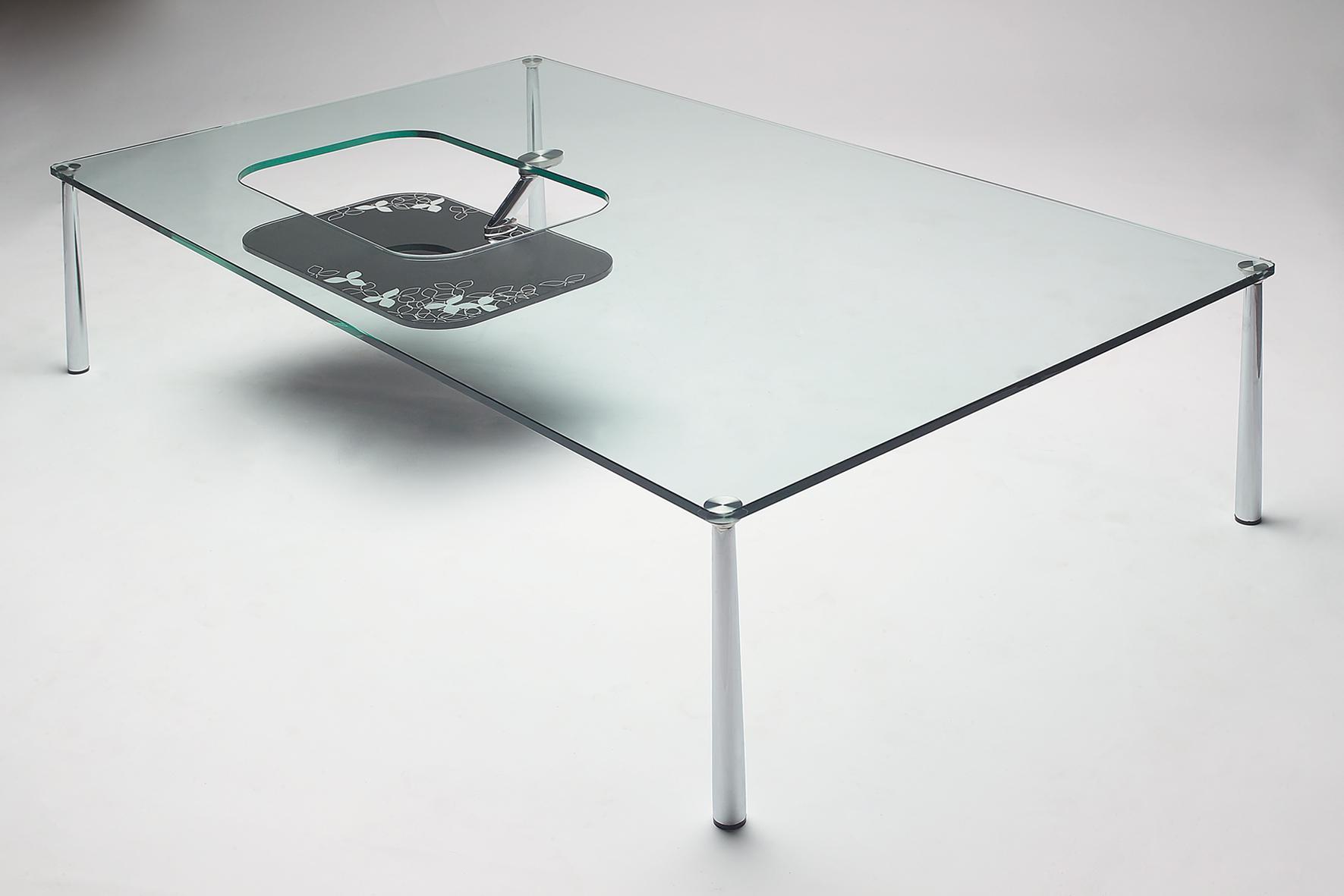 modern glass coffee table designs photo - 6