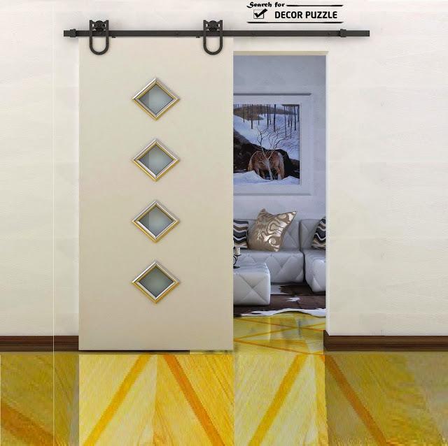 modern interior barn door designs photo - 5