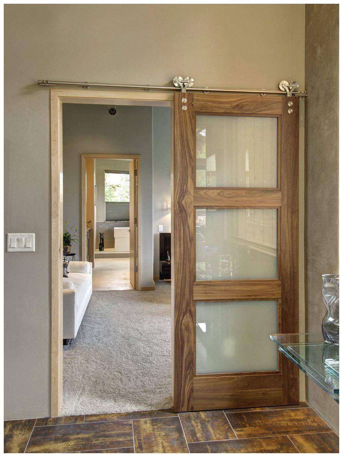 Modern Interior Barn Door Designs Hawk Haven
