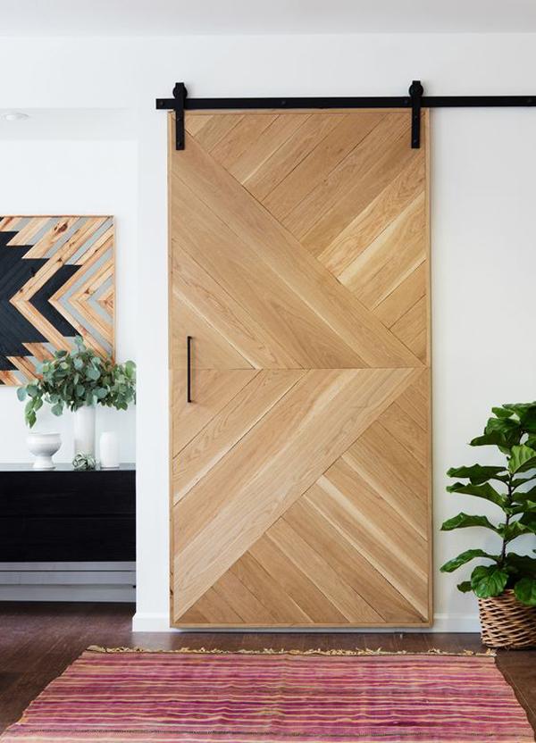 modern interior barn door designs photo - 9
