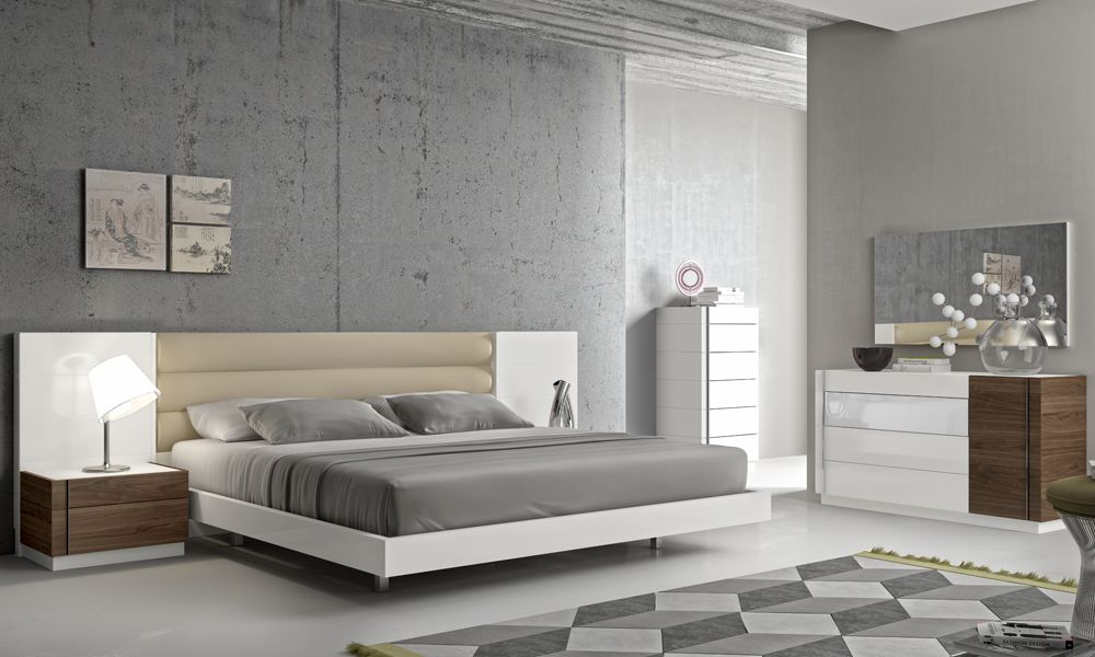 modern italian bedroom furniture sets photo - 5