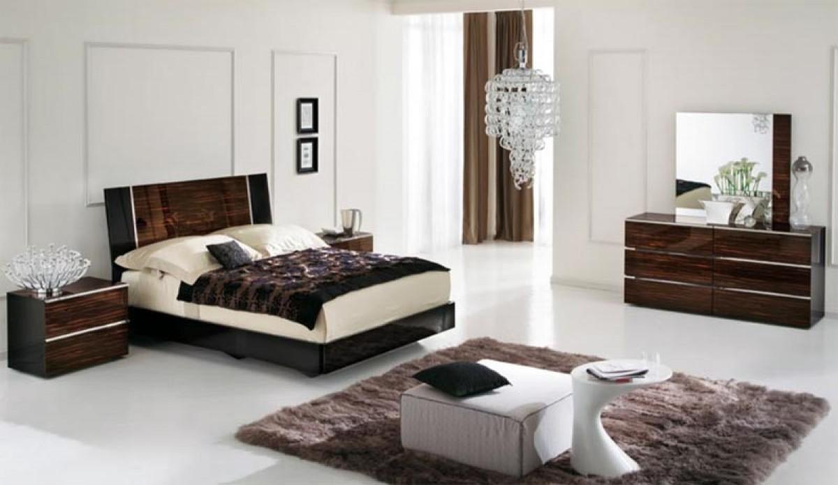 modern italian bedroom furniture sets photo - 7