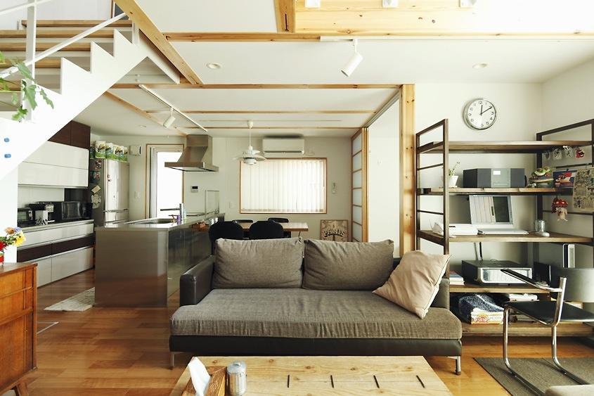 modern japanese house interior photo - 4