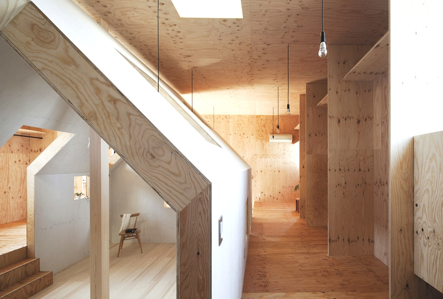 modern japanese house interior photo - 9