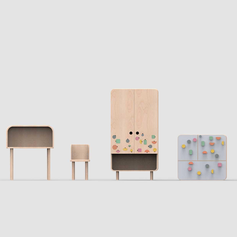 modern kids furniture design photo - 2