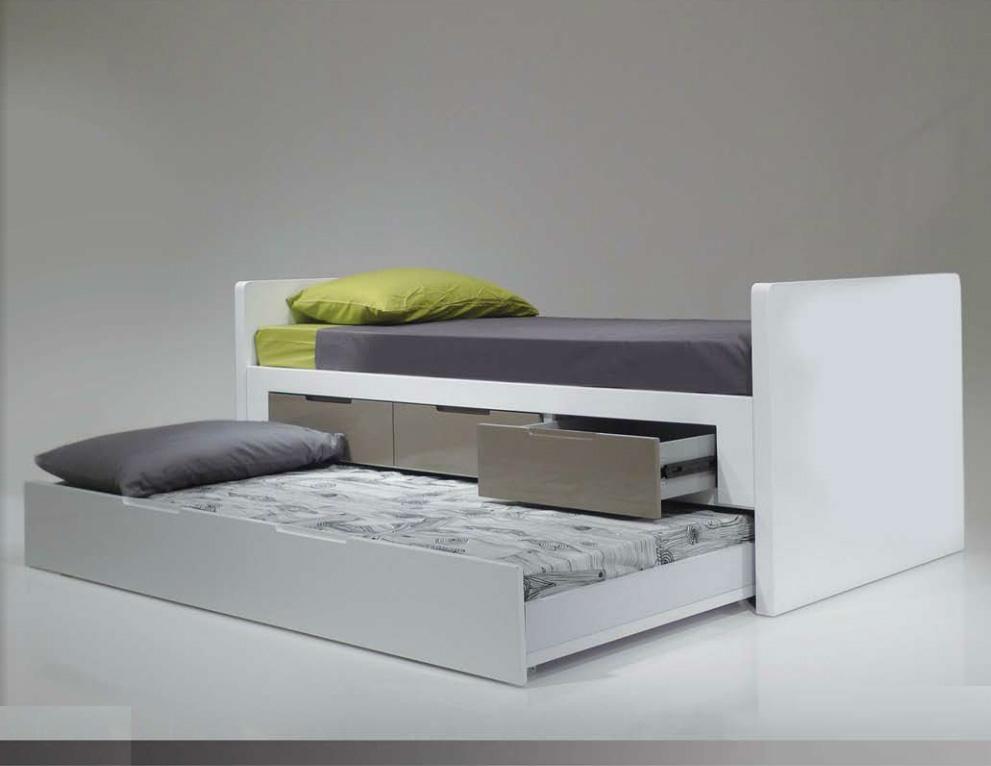 modern kids furniture twin bed photo - 10