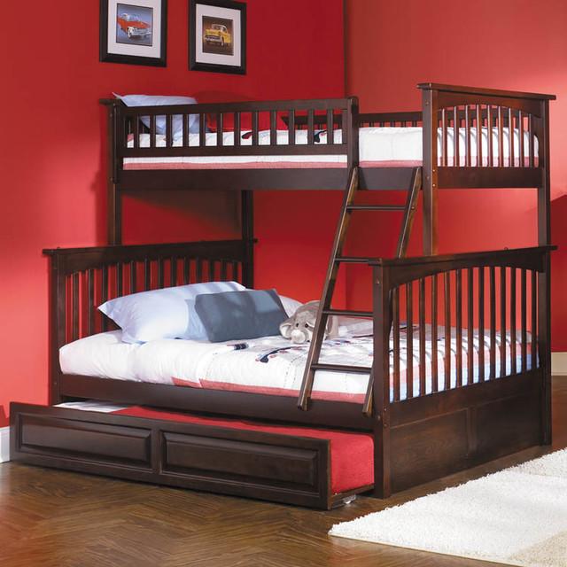modern kids furniture twin bed photo - 3