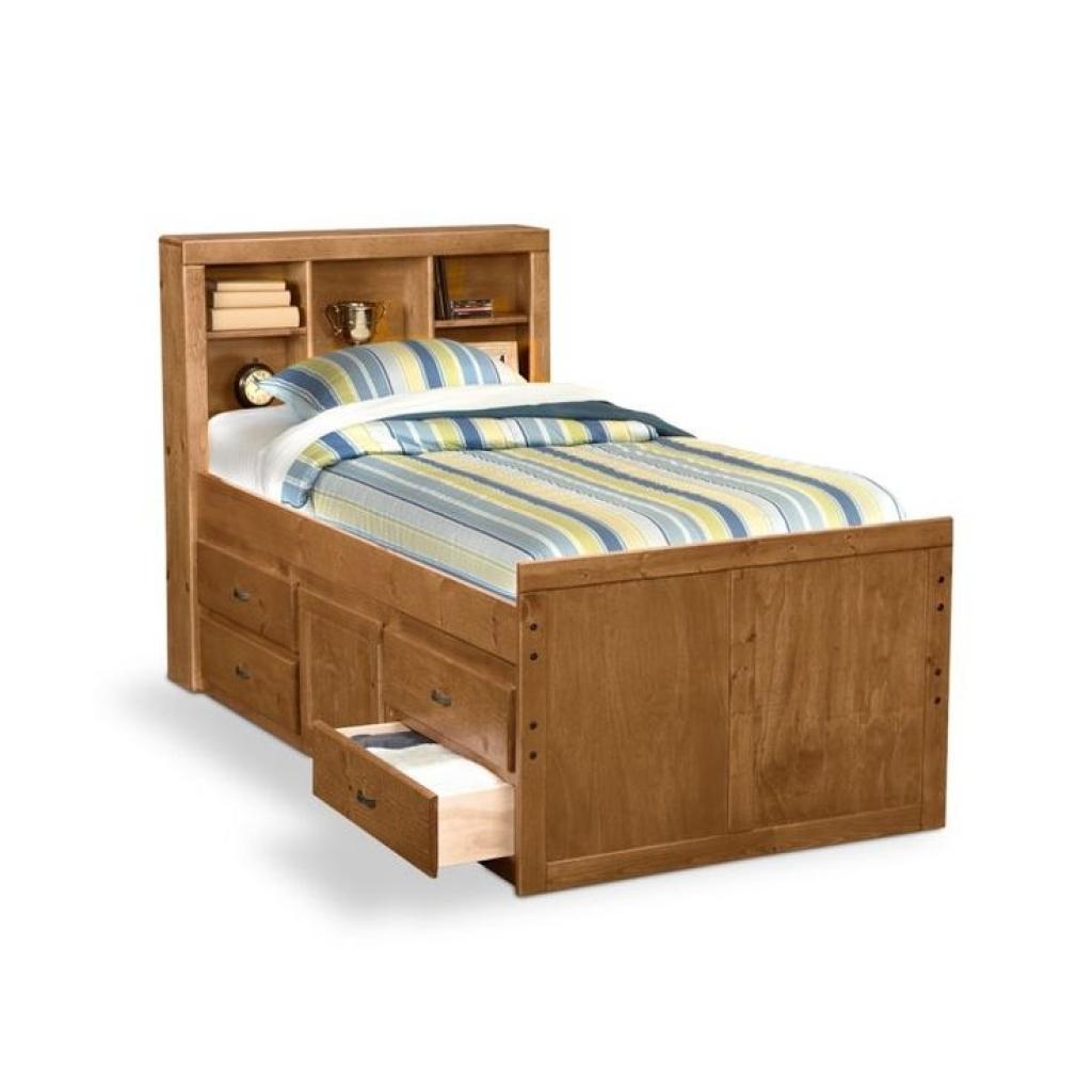 modern kids furniture twin bed photo - 5