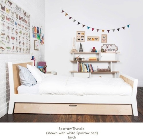 modern kids furniture twin bed photo - 8