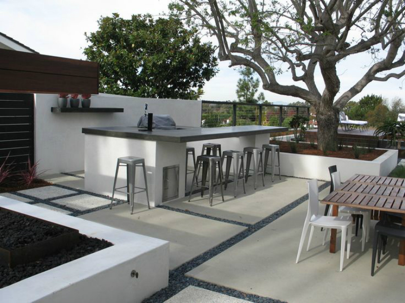 modern outdoor bar designs photo - 1