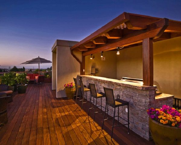 modern outdoor bar designs photo - 10