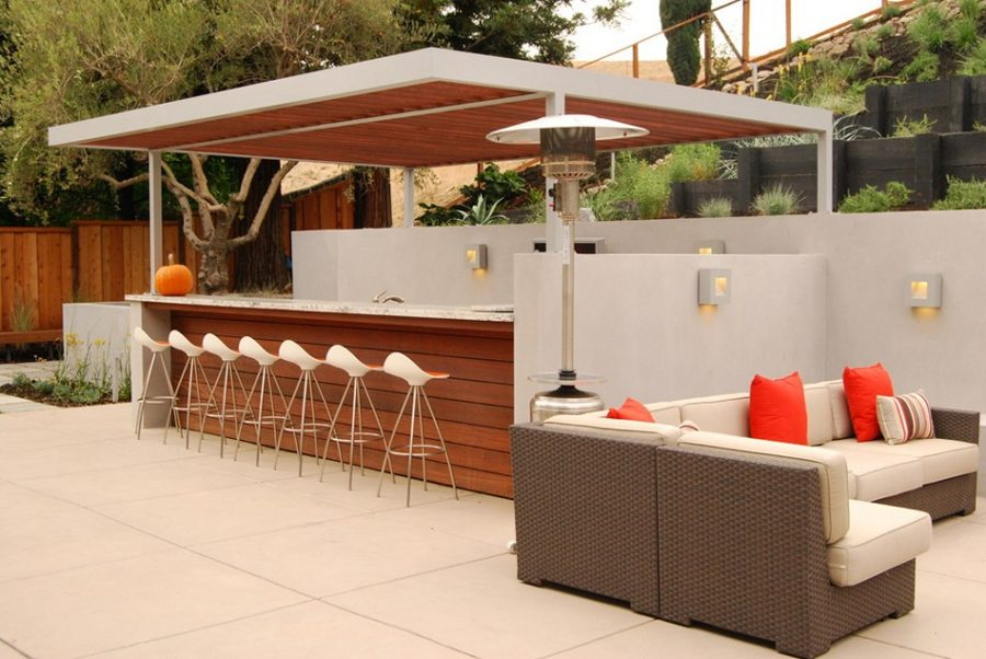 modern outdoor bar designs photo - 2