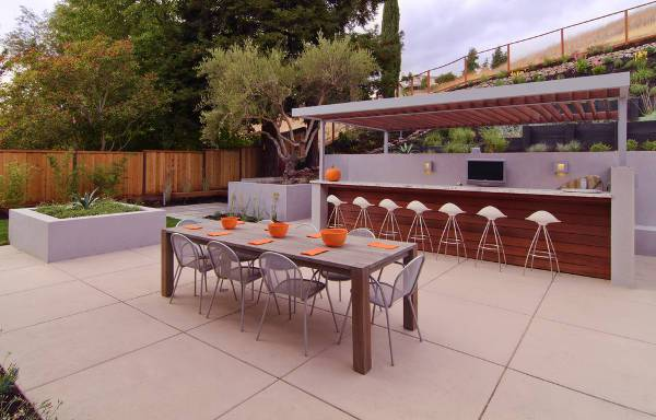 modern outdoor bar designs photo - 5