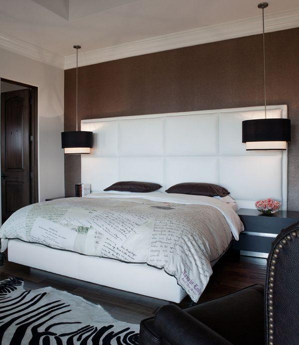 modern pendant lighting bedroom photo - 3