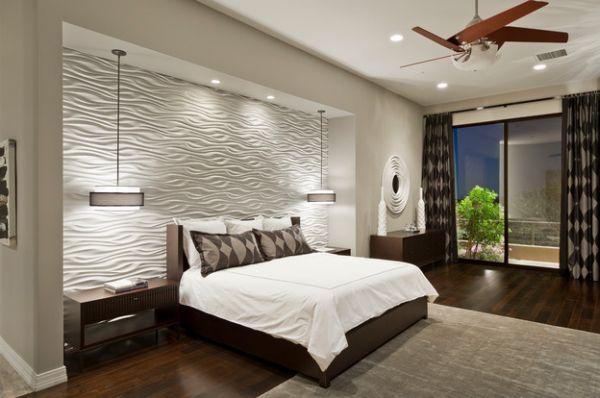 modern pendant lighting bedroom photo - 9