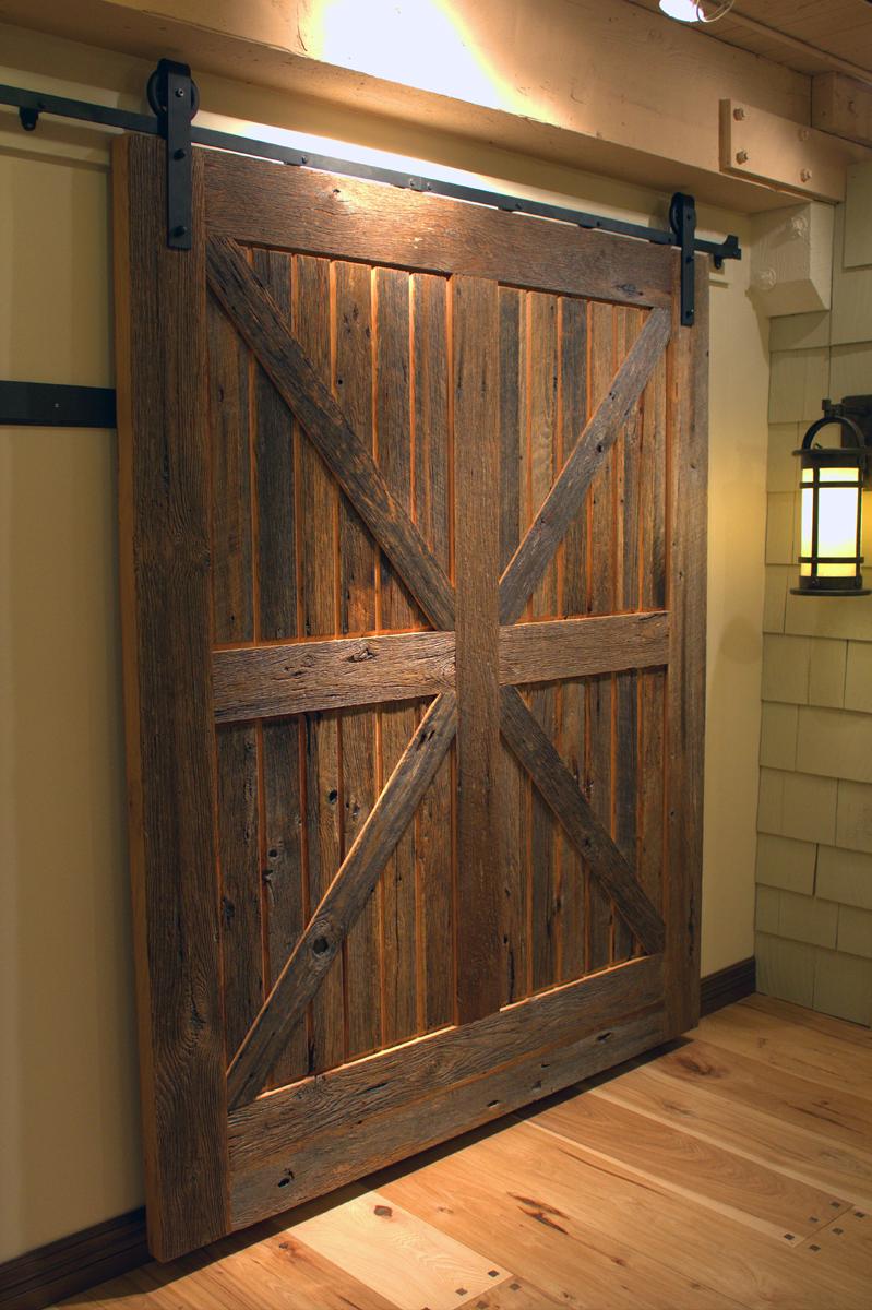 modern sliding barn door designs photo - 6