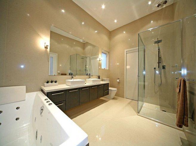 modern spa bathroom design photo - 4
