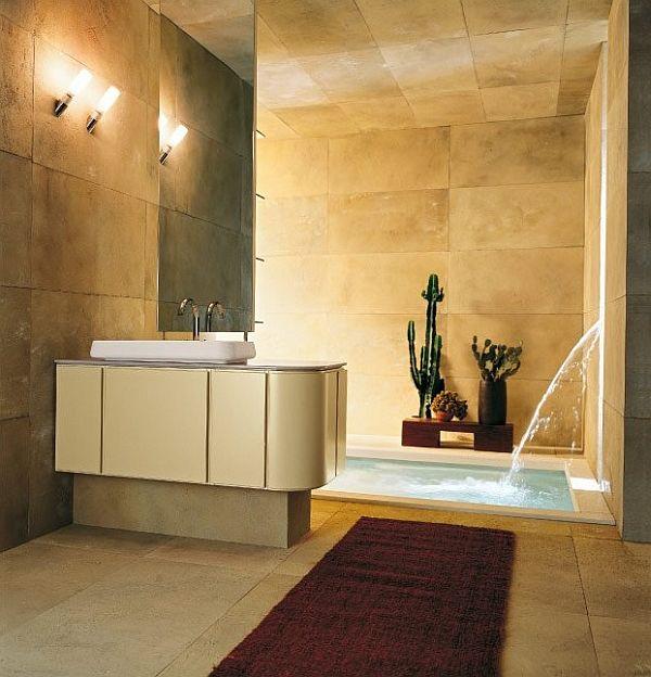 modern spa bathroom design photo - 6