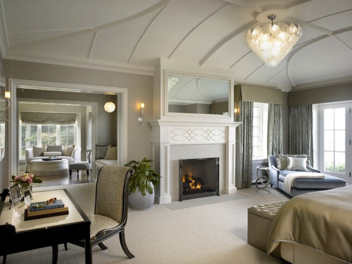 modern traditional bedroom ideas photo - 7