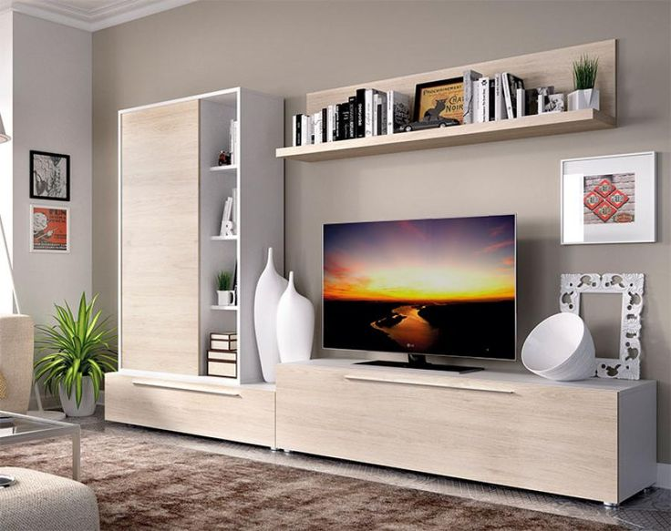 modern tv unit design ideas photo - 10