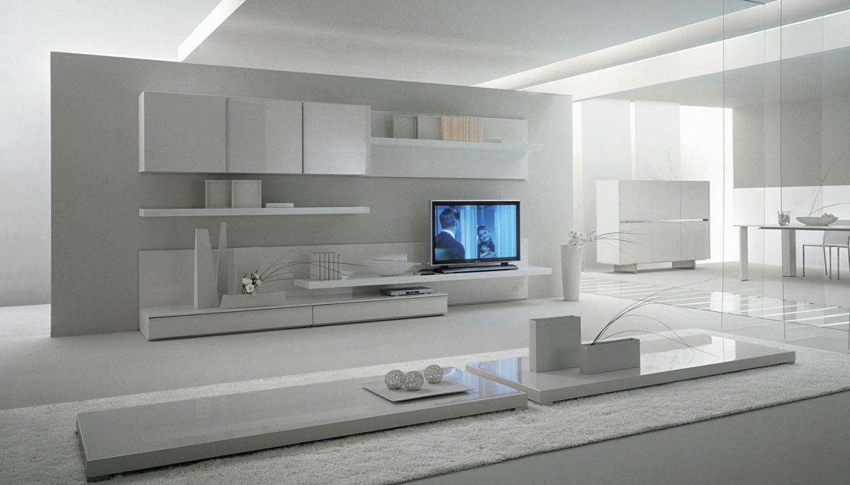 modern tv unit design ideas photo - 2
