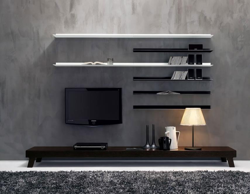 modern tv unit design ideas photo - 4
