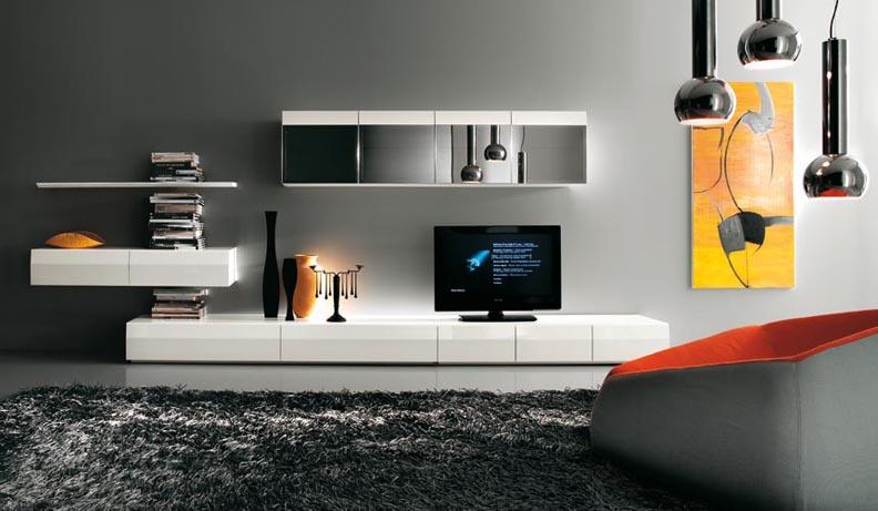 modern tv unit design ideas photo - 6
