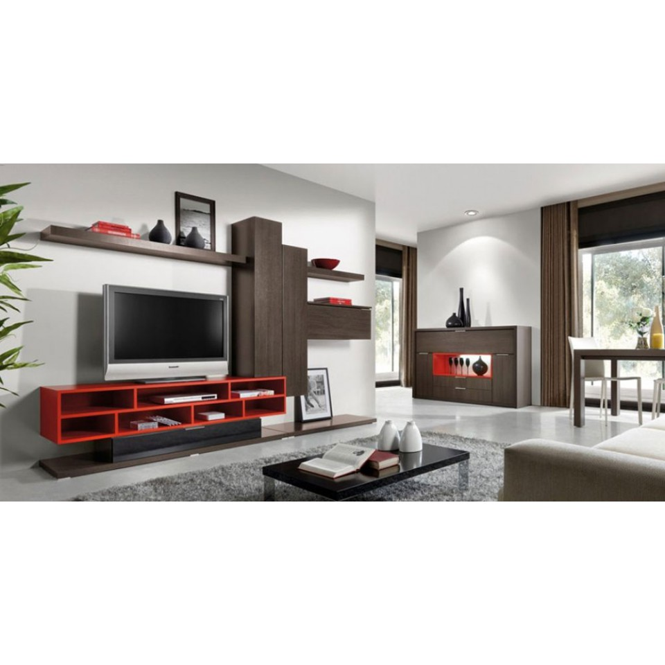 modern tv unit design ideas photo - 7